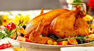 Enjoy turkey dinner at a Boston restaurant
