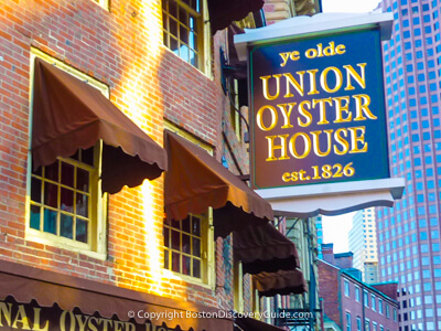 Union Oyster House - Boston's oldest restaurant