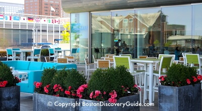Water Cafe on the South Boston Waterfront
