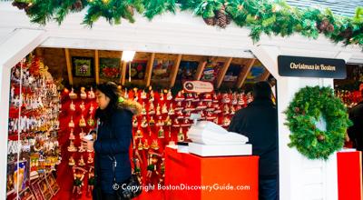 Boston's Winter Holiday Market & Ice Rink