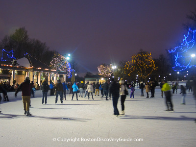Where to ice skate in Boston