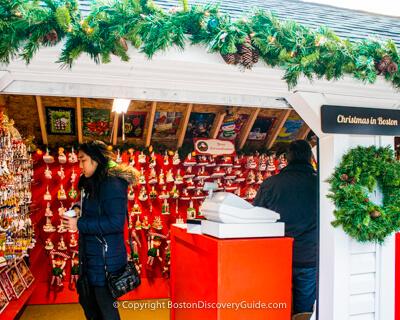 Boston Christmas Market