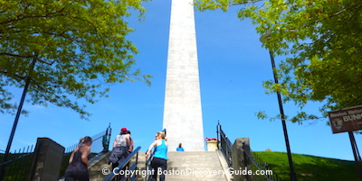 Bunker Hill Monument in Charlestown