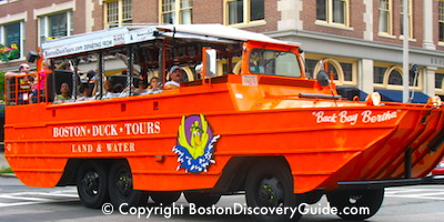 Boston Duck Tours - See Boston by Land and by Water