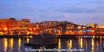 Boston's Fort Point neighborhood