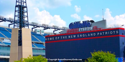 Getting to Gillette Stadium from Boston