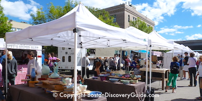 SoWa Open Market Opening Day in May - Boston