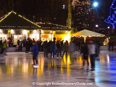 Boston winter tours