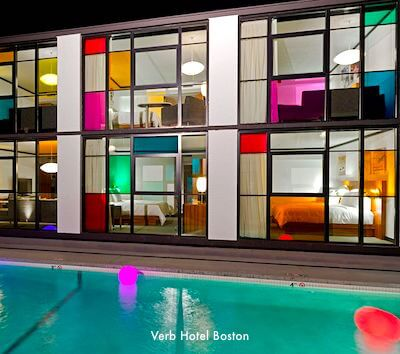 Boston Hotels with Outdoor Pools
