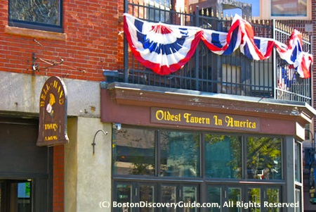 Historic Boston bars include Bell in Hand
