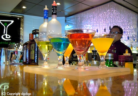 Mixology class on the Veendam - more to enjoy on cruises to Europe from Boston