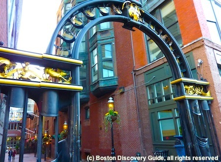 Entrance to The Alley in Boston, home to several Boston dance clubs
