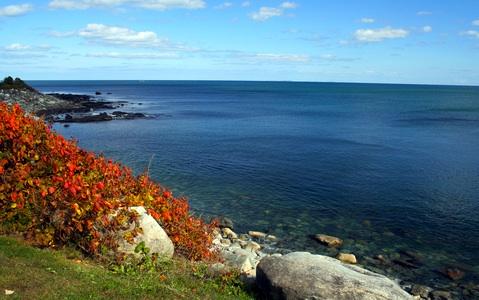 New England fall foliage - New Hampshire