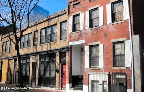 Art deco buildings in Boston's Bay Village