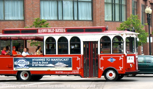 Beantown Trolley sightseeing tour