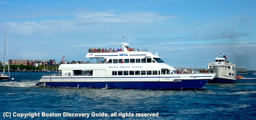Boston Event Calendar for August 2012 - Boston Harbor Cruises
