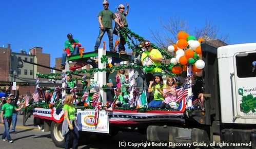 Top Boston Event in March - St Parade's Day Parade