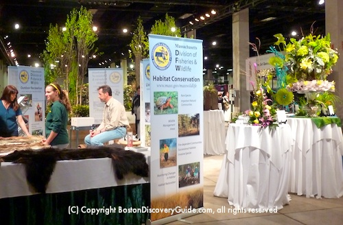Boston Flower and Garden Show Conservation Exhibit