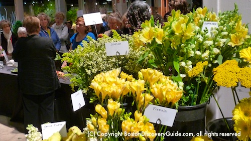Boston Flower and Garden Show Floral Demo