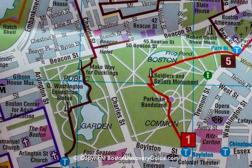 Getting Around Boston On Public Transportation Boston Discovery Guide