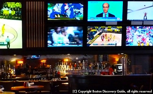 Many Boston sports bars are near TD Banknorth Garden
