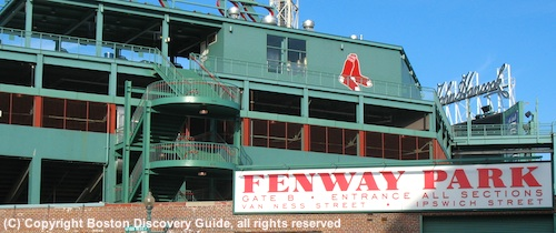 Fenway Park - Red Sox play the Tampa Bay Rays