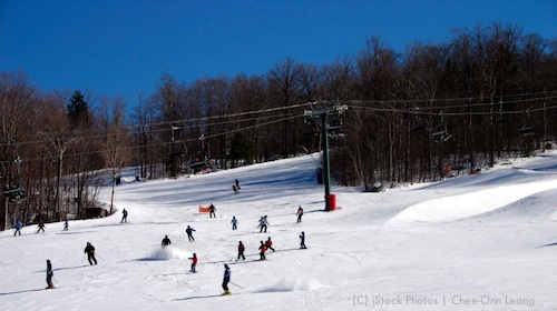 Ski Slope / Massachusetts Ski Areas near Boston / www.boston-discovery-guide.com, (c) iStockPhoto and Chee-Onn Leong