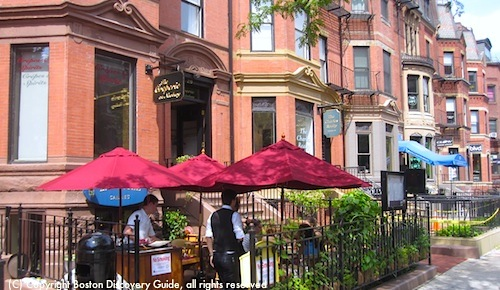 Top Boston Restaurants Guide, including Eastern Standard in the Fenway neighborhood / www.boston-discovery-guide.com