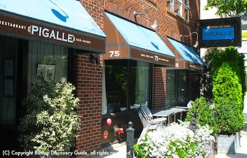 Pigalle, French Restaurant in Bay Village near Boston's Theatre District