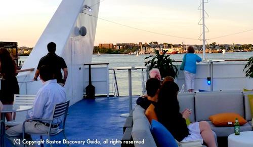 Spirit of Boston cruise deck