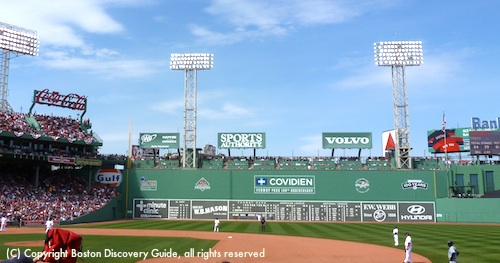 Red Sox game against the Tampa Rays in Fenway Park
