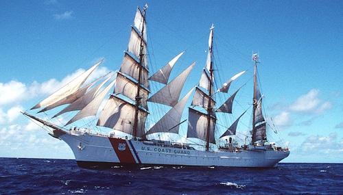 USS Coast Guard Eagle will come to Boston for Tall Ships Celebration