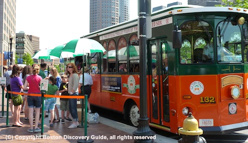 Old Town Trolley sightseeing tour