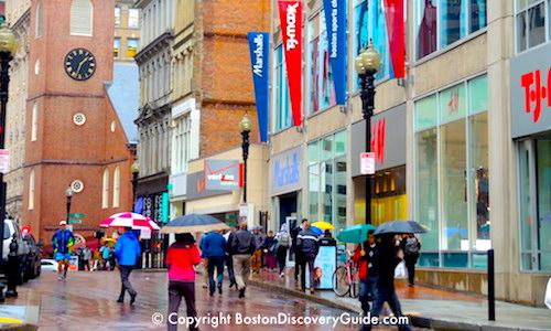Rainy Day Activities in Boston