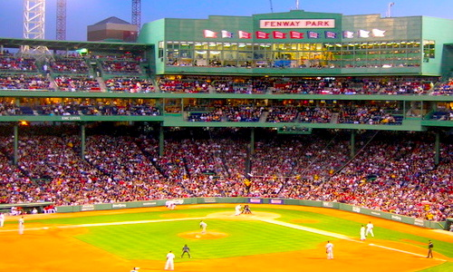 Boston Sports - where to see a game