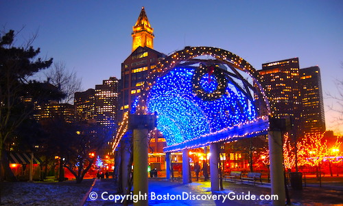 Christmas in Boston