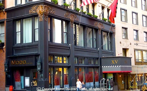 Downtown boston hotels boston discovery guide for Historic hotels in boston