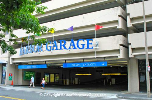 Harbor Garage - Boston parking garages near North End