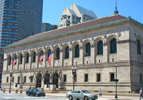 Photo - Boston Public Library in Copley Square