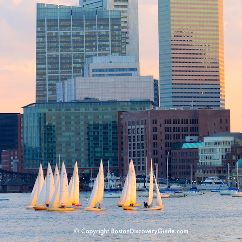 Boston neighborhoods:  Downtown Waterfront