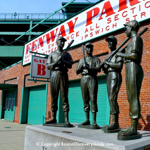 Boston neighborhoods:  Fenway Park in the Fenway neighborhood