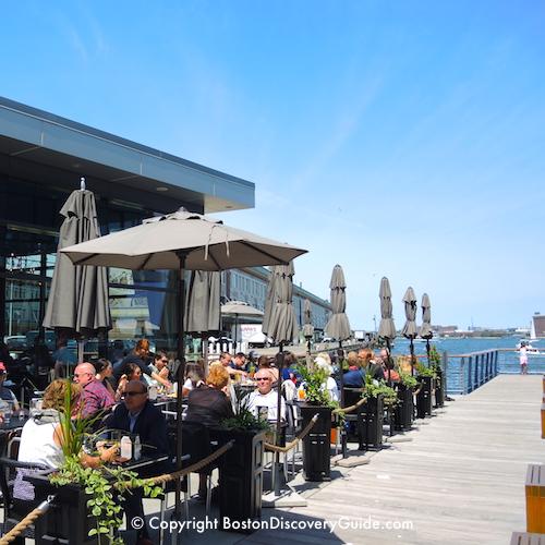Boston neighborhoods:  South Boston Waterfront