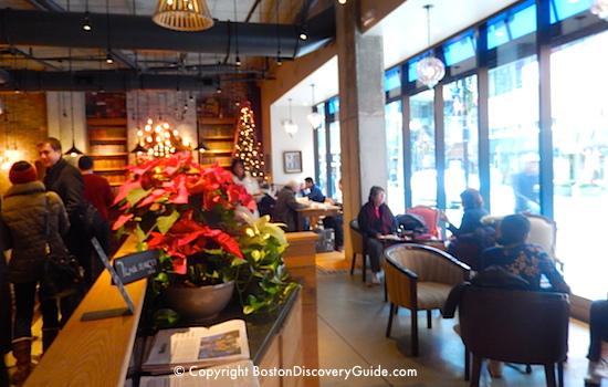 Boston Theatre District Restaurants - best places to eat