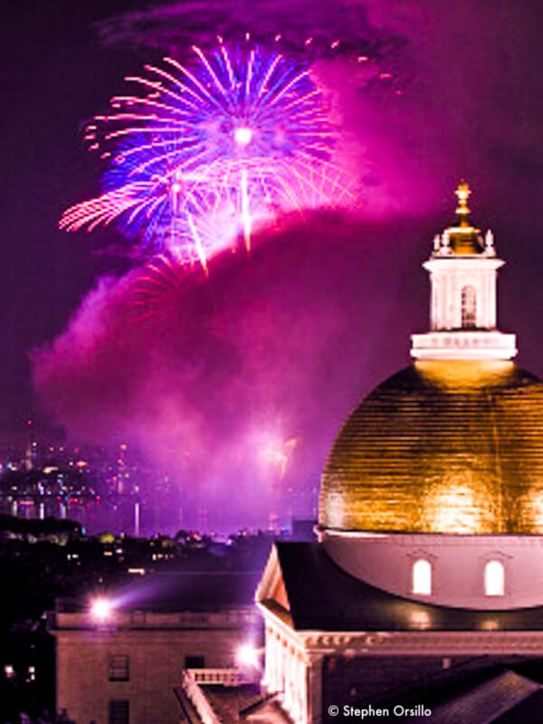 July 4th fireworks - Top Boston Event