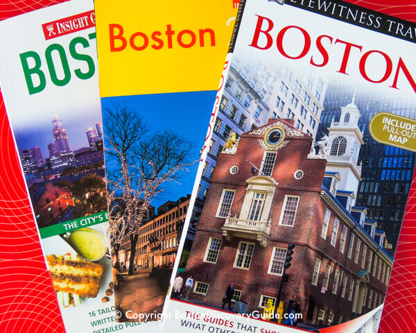Best Boston guidebooks