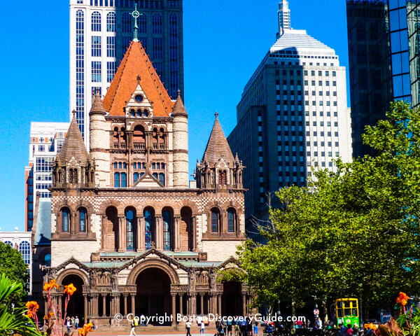 Trinity Church in Boston's Copley Square