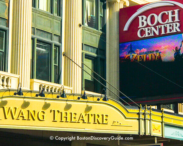 Wang Theatre in Boston
