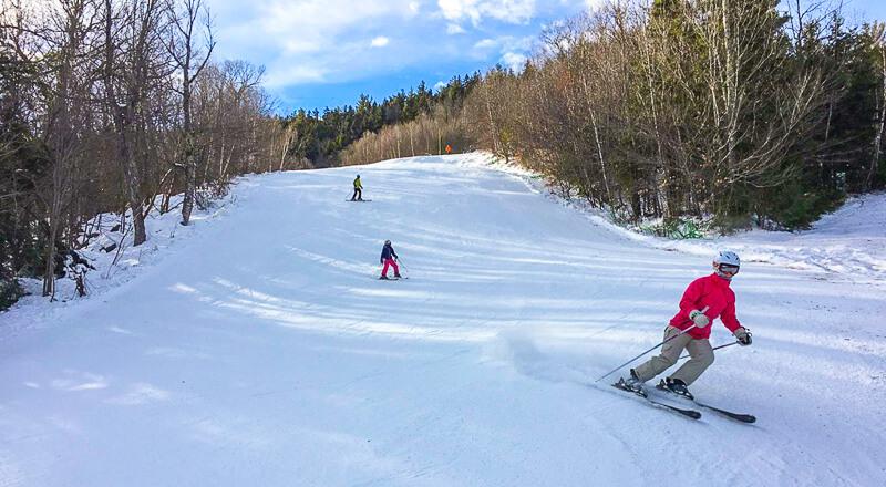 New England Ski areas near Boston