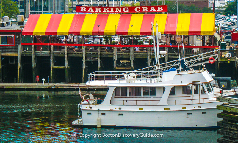 Barking Crab on Boston's Fort Point Channel