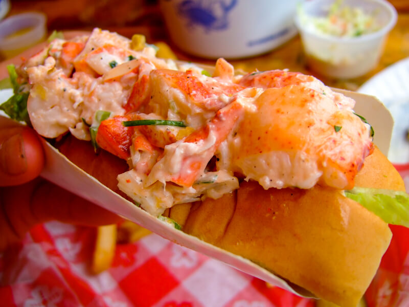 Lobster roll at the Barking Crab - photo courtesy of yosoynuts